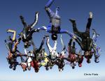Highlight for Album: project horizon IV - skydive AZ - chris fiala photos
